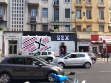 There was a shop for sex accessories right opposite to the train station. Yeah, this was new to me too.