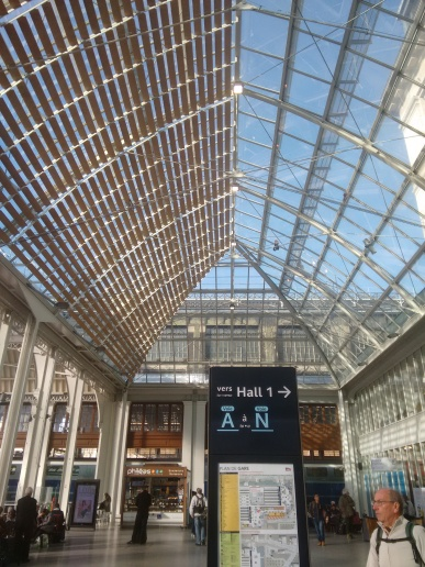 Paris-Gare de Lyon train station.