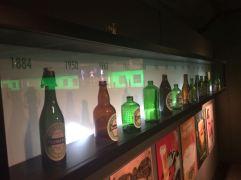 Heineken bottles up till now!