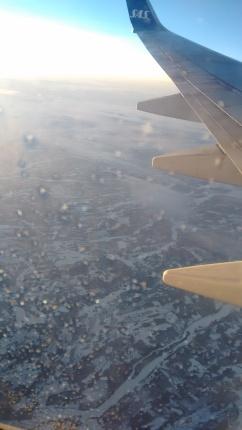 Aerial view of Kiruna.